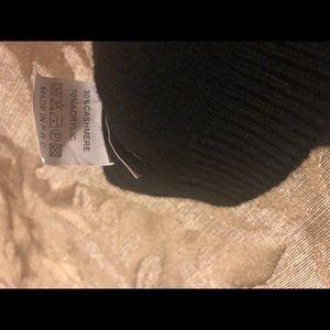 Cashmere winter hat